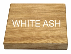White Ash Solid Wood Table Top Commercial Grade Highest Quality