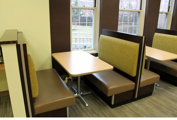 Booth and Optional Tables (Made in USA) - Restaurant Complete Interior Solution - 3