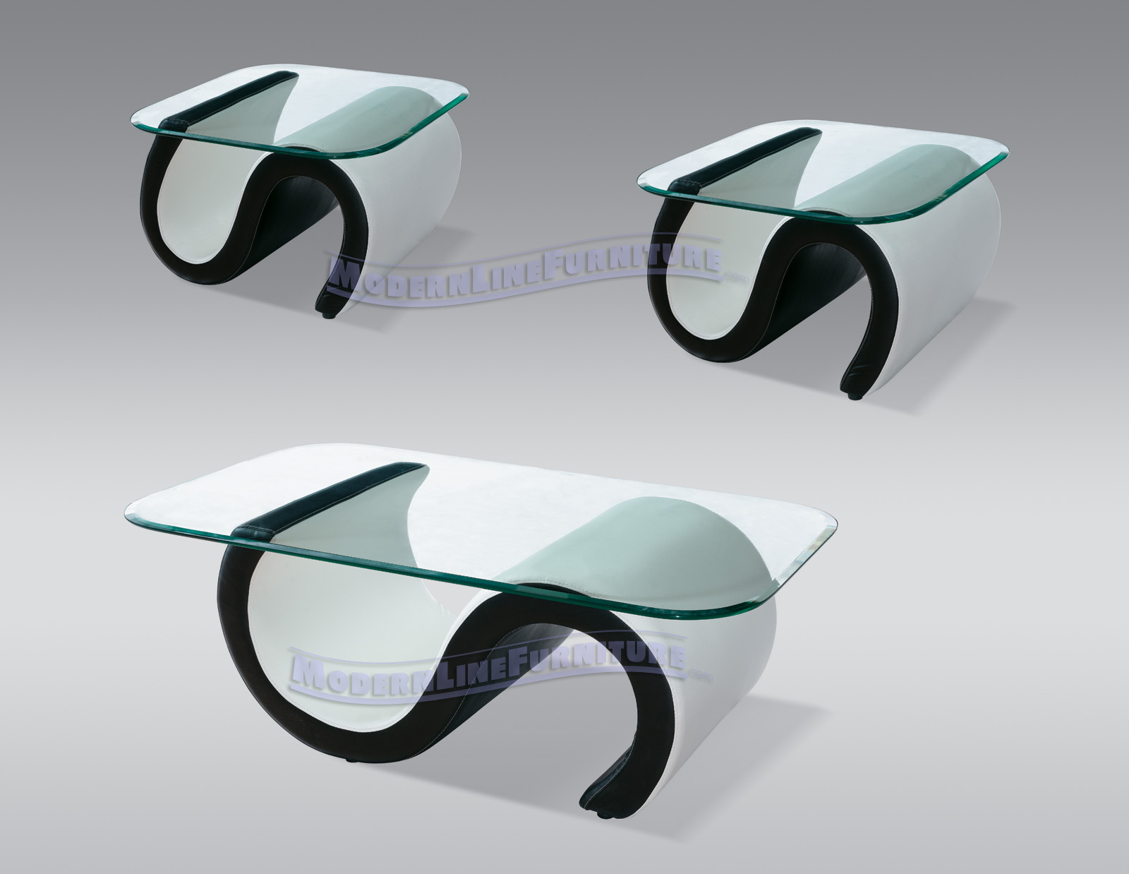 Ultra modern end tables - Modern Line Furniture Commercial Furniture Custom Made Furniture Seating Collection Coffee Side Tables Model 69 Contemporary White Black