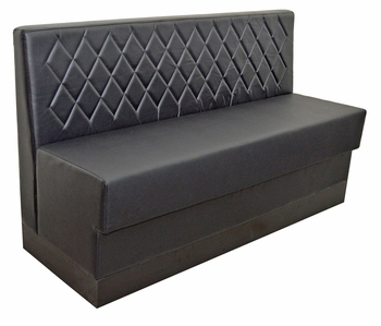 Diamond Tufted Booth   Fully Customizable