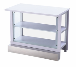 Liquidation! Clear Glass VIP Bar Table (Only 1 Left)