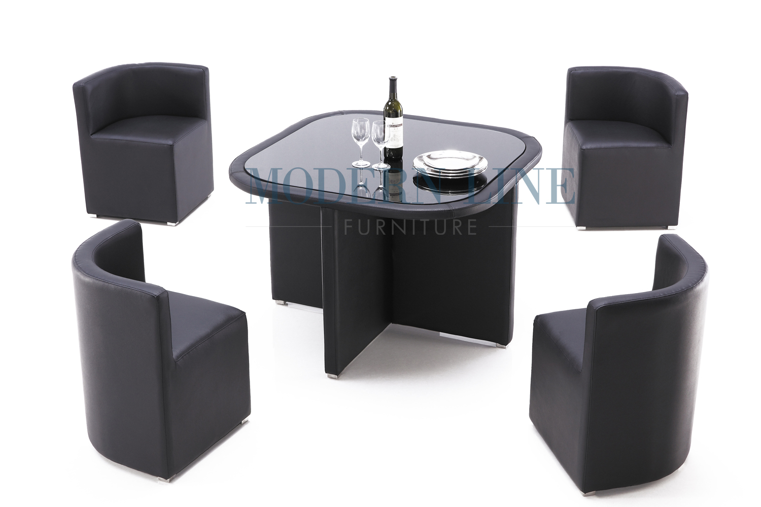 Modern line furniture commercial furniture custom made for Custom kitchen tables and chairs