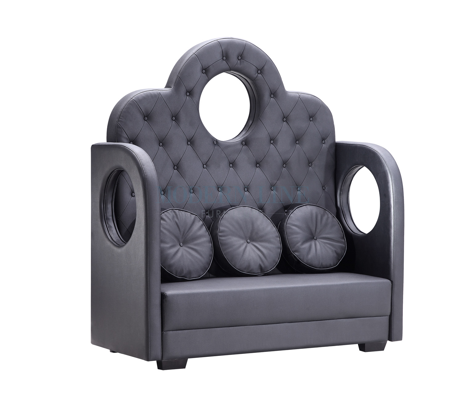 Modern Line Furniture   Commercial Furniture   Custom Made Furniture |  Seating Collection | | | Modern Black Banquette Crown Seater Sofa With  Removable ...
