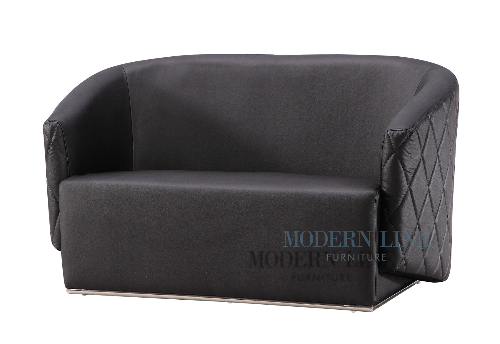 modern line furniture commercial furniture custom made furniture seating collection model cubao modern black leather club loveseat