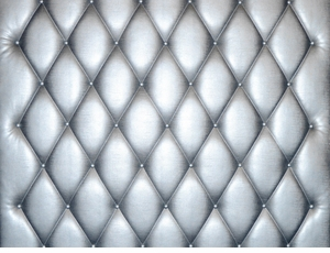 Modern Silver Leather Wall Panel (Price Per Sq Foot)