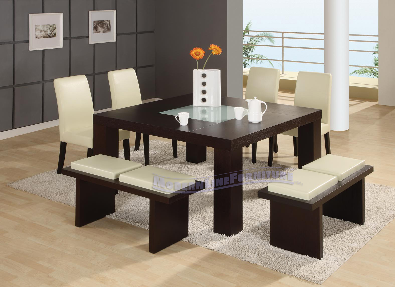 Restaurant furniture seating booths chairs tables bar for Modern chic furniture