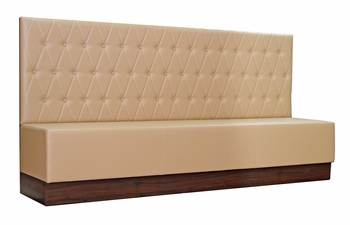 Modern Button Tufted Booth - Fully Customizable