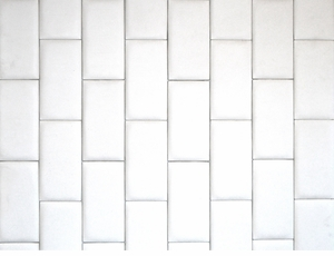Modern White Leather - Brick Pattern - Wall Panel Modern White Leather - Brick Pattern - Wall Panel (Price Per Sq Foot)