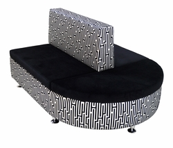 Modular Urban Two-Sided Seating Chaise (Only 1 Left!)