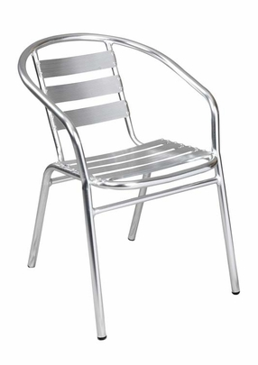 Outdoor Aluminum Stacking Chair