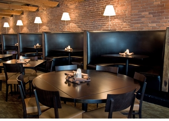Booth Seating with Optional Tables and Chairs (Made in USA) - Restaurant Complete Interior Solution - 12