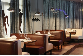Booth Seating with Tables (Made in USA) - - Restaurant Complete Interior Solution - 7