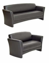 SUPER LOWER PRICE - 50% OFF! Build For High Traffic Areas - Clermont Sofa and Loveseat - Made in USA