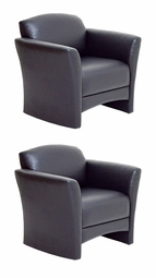 SUPER LOWER PRICE - OVER 50% OFF! Build For High Traffic Areas - Clermont Two Chairs - Made in USA