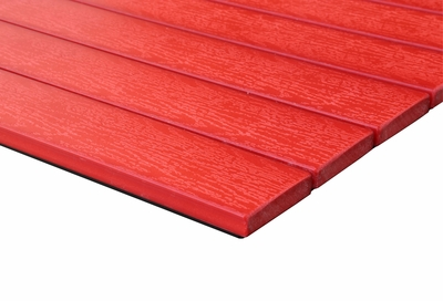 Teak - Commercial Grade Table Top - Red
