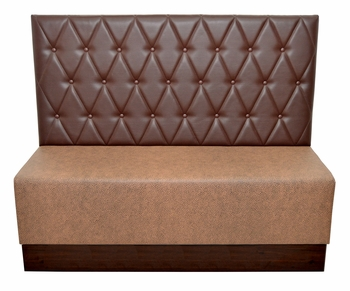 Two-Tone Tufted Booth - Fully Customizable