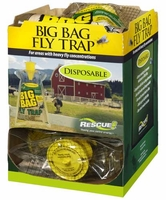 (12 DISPLAY BOX) Rescue - Disposable Non-Toxic BIG BAG Fly Trap ( Country Size ), BFTD-DB12