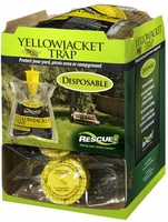 (12 DISPLAY BOX) Rescue - Western Disposable Non-Toxic Yellow Jacket Trap, YJTD-DB12-W