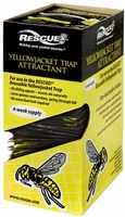 (36 DISPLAY BOX) Rescue - Yellow Jacket Trap Non-Toxic Attractant Refill (4 Week), YJTA-DB36