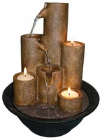 Alpine Cascading Candles Waterfall Fountain, 11 inches WCT202