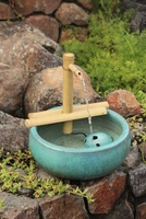 Bamboo Adjustable Water Spout and Pump Kit (12 Inch) Half Round arms