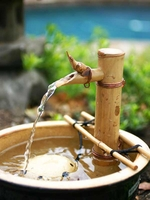 Bamboo Adjustable Water Spout and Pump Kit (7 Inch) Branch Arms
