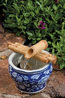 Bamboo Three-Arm Water Spout and Pump Kit (7 Inch)