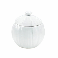 Ceramic Bowl with Lid, White 10016803