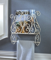 Cottage Charm Towel Holder and Rack 10015955