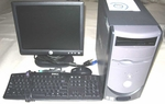 Reconditioned Dell Dimension 2350 Pentium 4 2.20GHz/32-bit/1GB/DVD-ROM/HD-40GB/WIFI/Ubuntu