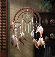 Dreamcatcher Hearts Wind Chime 15 inches 13236