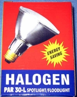 Energy Saver Halogen 50W / 90W 130V/120V Double Life PAR30L Clear Flood E26 50PAR30/L/QFL