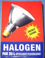 Energy Saver Halogen 75W / 120W 130V/120V Double Life PAR30L Clear Flood E26 75PAR30/L/QFL