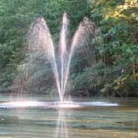 "Fountain Tech Big Display Floating Fountain 24"" Extension Tube"