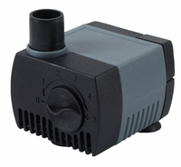 FountainPro WA65LV 65GPH 12V AC Submersible Pond or Fountain Pump, 20' Cord