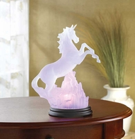 Frosted Unicorn Light 34059