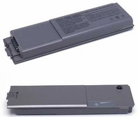 High Quality Replacement Dell Latitude D800 Li-ion Battery 6600mAh 11.1V