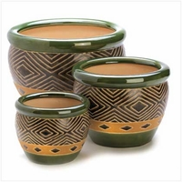 Jade Planter Trio 13367
