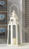 Lighthouse Candle Lantern, 13 inches 14634