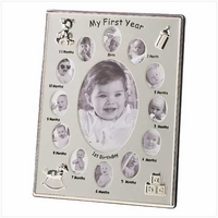 """""""My First Year"""" Photo Frame 39783"""