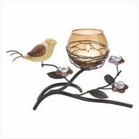 Partridge Nest Tealight Holder 13374