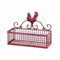Red Rooster Single Wall Rack 10015877