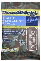 Rescue - DecoShield WHY Wasps/Hornets Repellent Refill (2 PACK), DS-WHYR