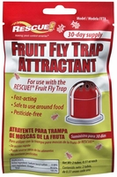 Rescue - Non-Toxic Fruit Fly Trap Refill (30 Day Attractant Supply) FFTA