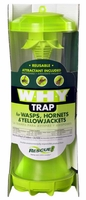 Rescue - WHY Trap - Wasp, Hornet, Yellow Jacket Non-Toxic Reusable Trap, WHYTR