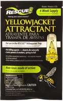 Rescue - Yellow Jacket Trap Non-Toxic Attractant Refill (4 Week), YJTA