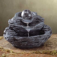 Rock and Ball Tabletop Fountain 34807