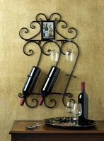 Scrolled Wall Wine Rack 10015695