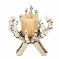 Skeleton's Hands Candle Stand 10017192