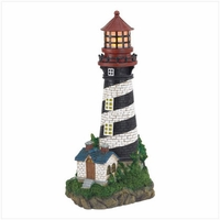 Solar Powered Lighthouse 35719
